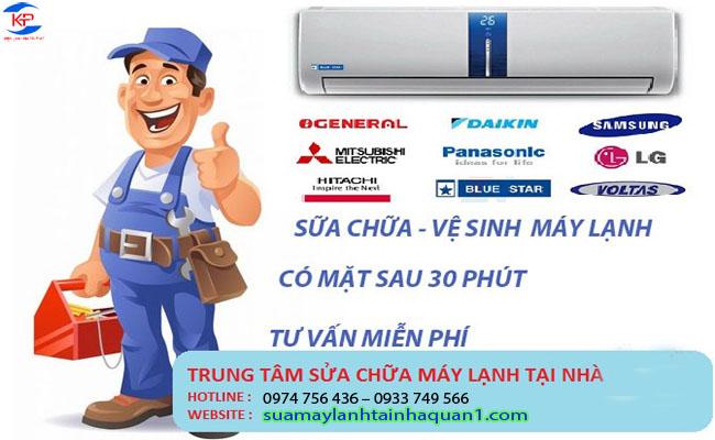 Dịch vụ sửa máy lạnh tại nhà nhanh và uy tín